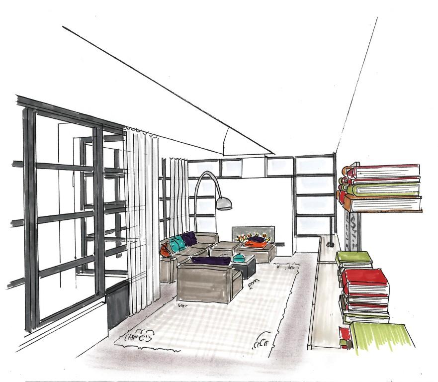 Stunning Vlekkenplan Interieur fotos - Woonkamer inspiratie, ideeën ...