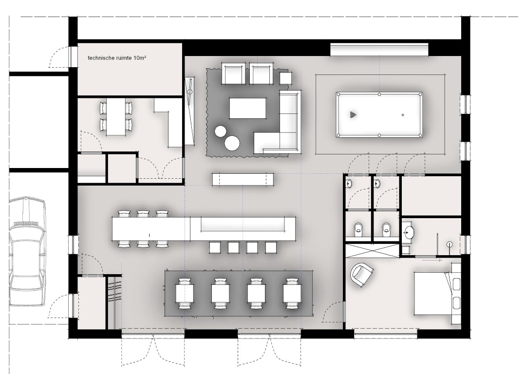 Plattegrond Kleine Keuken : plattegrond
